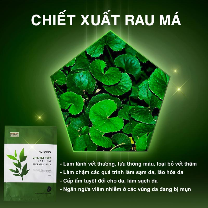 Mặt Nạ BNBG Vita Tea Tree Healing Face Mask Pack 30ml