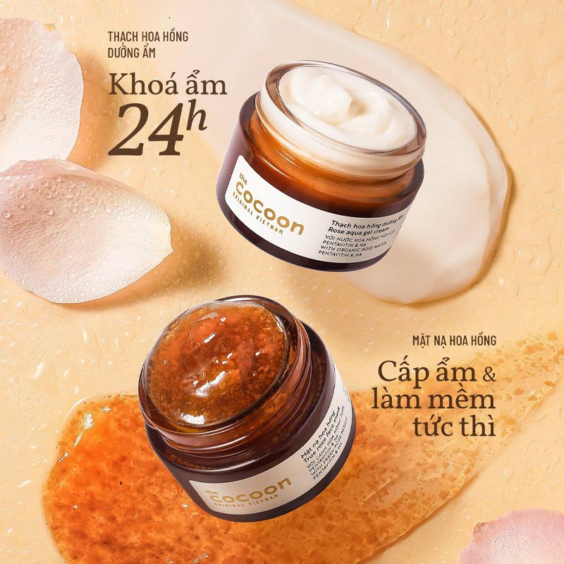 Cocoon True Rose Face Mask 30ml
