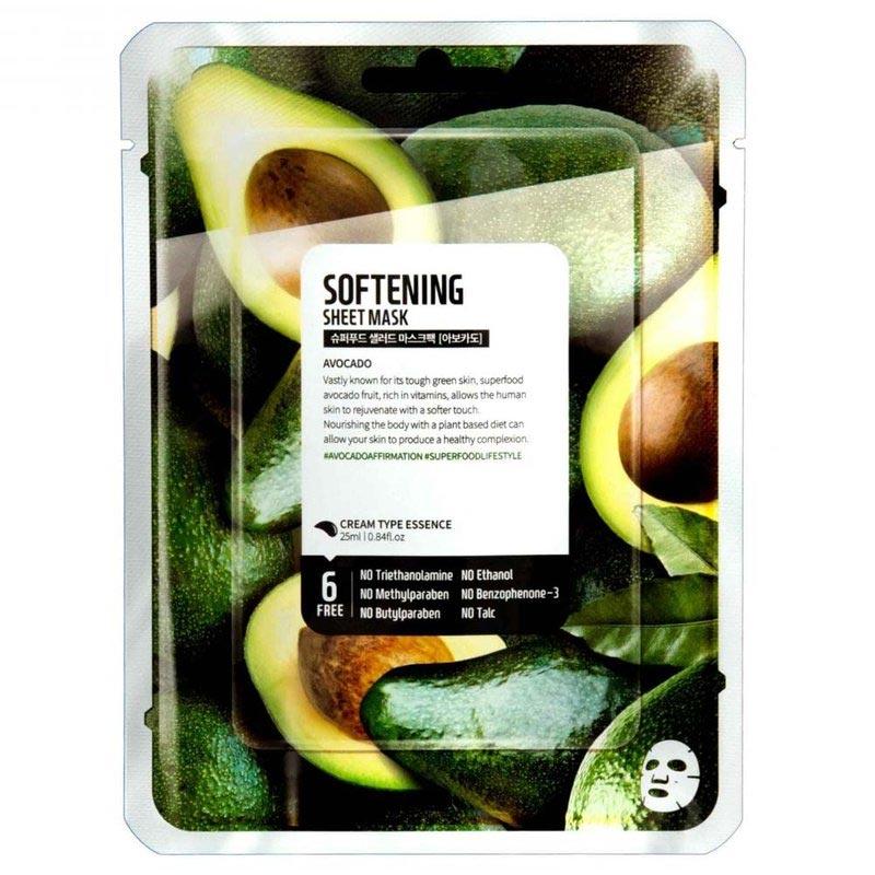 Mặt Nạ Dưỡng Da Farmskin Quả Bơ Mềm Mịn Da Superfood Salad For Skin - Avocado