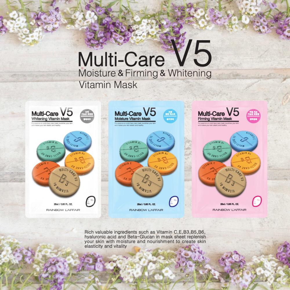 Mặt Nạ Dưỡng Da Vitamin Rainbow L'affair 25g