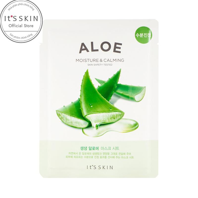 Mặt Nạ It'S Skin Nha Đam Dưỡng Ẩm & Làm Dịu Da The Fresh Mask Sheet Aloe