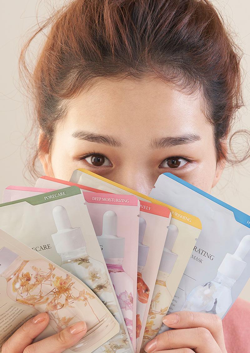 Mặt Nạ Mamonde Flower Lab Essence Mask
