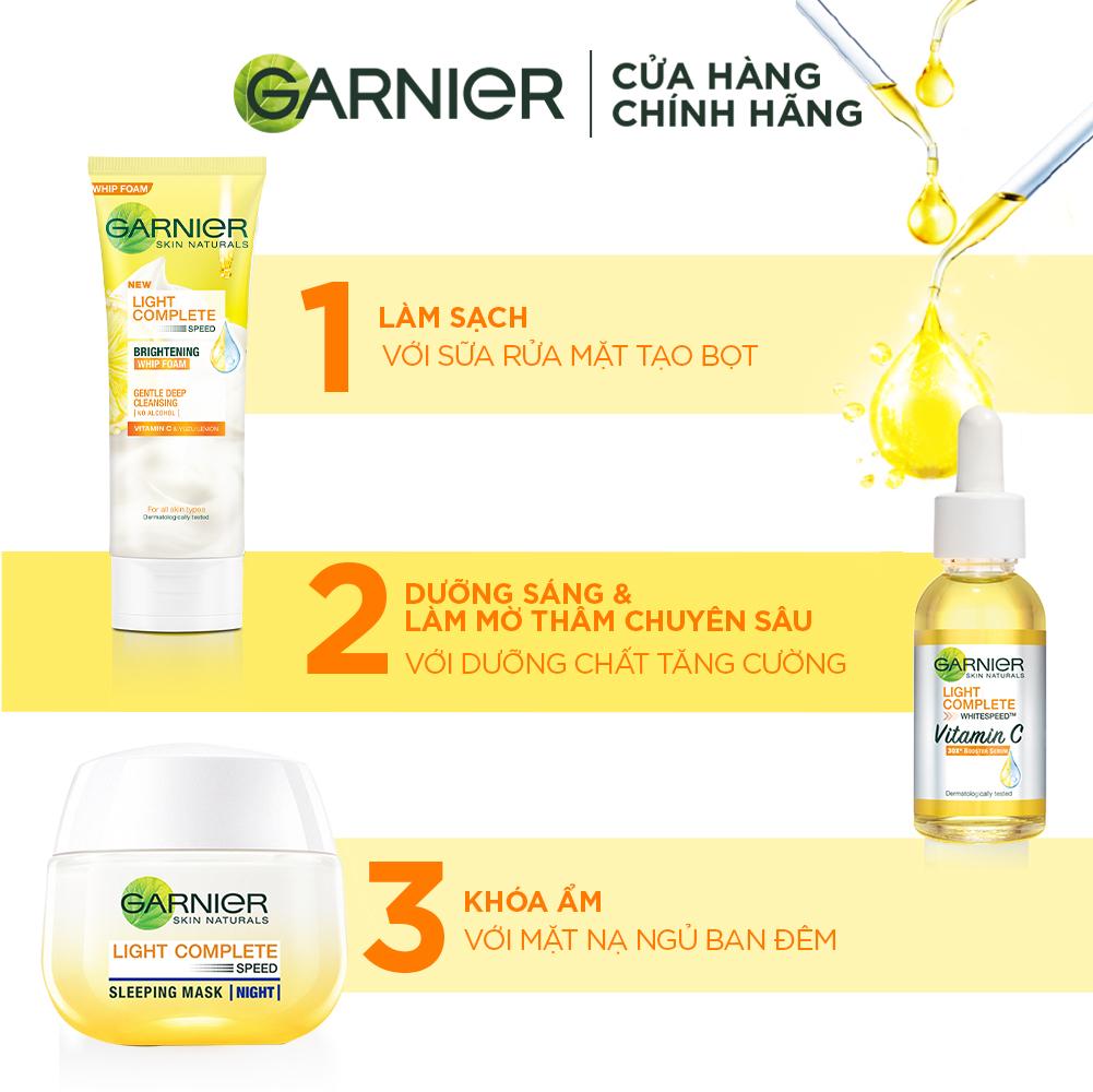 Mặt Nạ Ngủ Garnier Tinh Chất Sữa Chua Sáng Da Ban Đêm 50ml