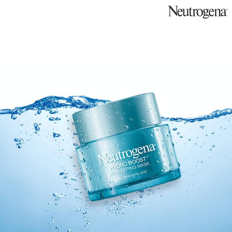 Mặt Nạ Ngủ Neutrogena Cấp Nước Cho Da Hydro Boost 3d Sleeping Mask 50g
