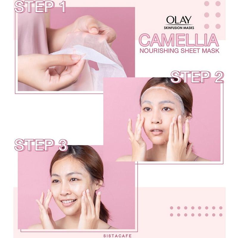 Olay Skinfusion Masks Camellia 28g