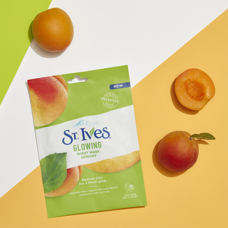 Mặt Nạ St.Ives Glowing Apricot 25ml