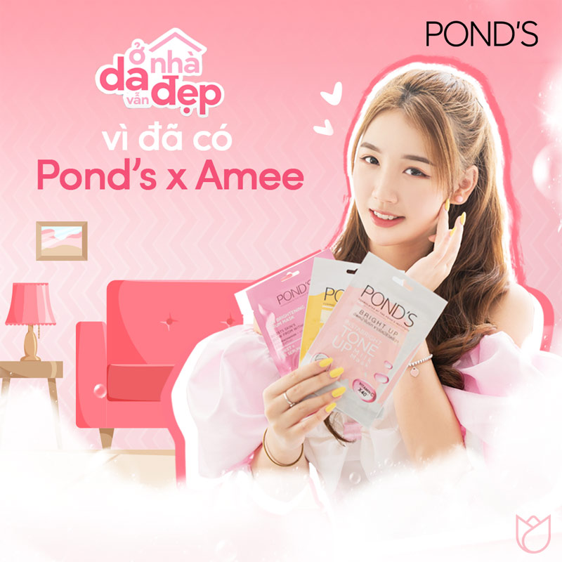Mặt Nạ Sữa Pond's Beauty Instabright Tone Up Milk Mask 25g