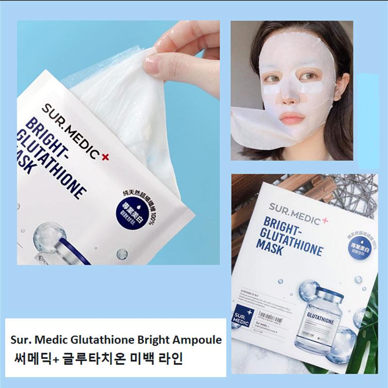 Sur.Medic+ Glutathione Bright Glutathione Mask 30g