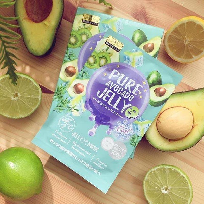 Mặt Nạ Thạch Sexylook Pure Avocado Jelly (Màu Xanh Lá) 38ml