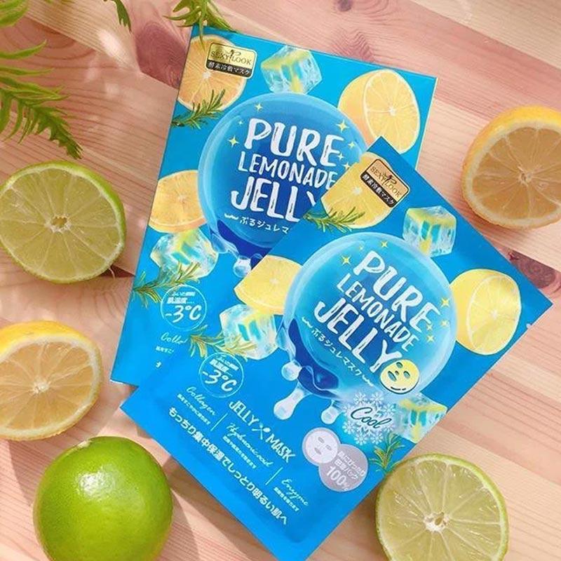 Mặt Nạ Thạch Sexylook Jelly Pure Lemonade Jelly (Màu Xanh Dương) 38ml