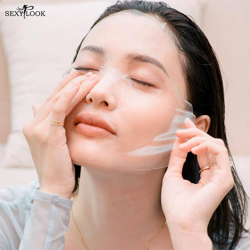 Mặt Nạ Thạch Sexylook Pure Peach & Berry Jelly (Màu Tím)