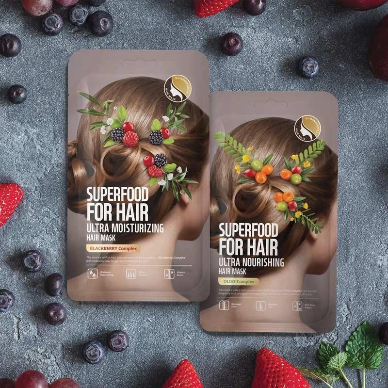 Mặt Nạ Tóc Farmskin Superfood For Hair Ultra Nourishing Hair Mask 40g