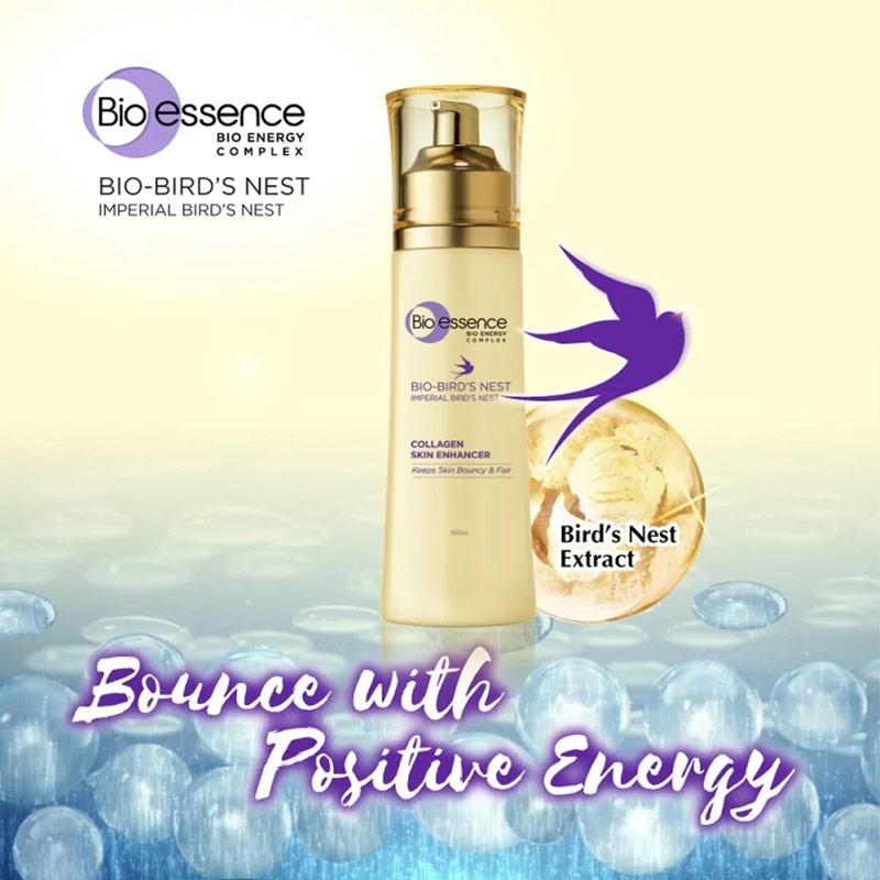 Nước Cân Bằng Bio-essence Dưỡng Da Săn Mịn Rạng Ngời Bio-Bird's Nest Collagen Skin Enhancer 100ml