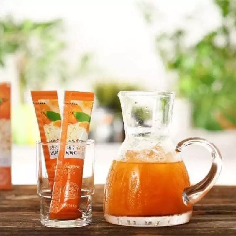 Nước Ép Quýt Sanga Hỗ Trợ Giảm Cân, Làm Đẹp Da Jeju Tangerine Vita Tok Tok