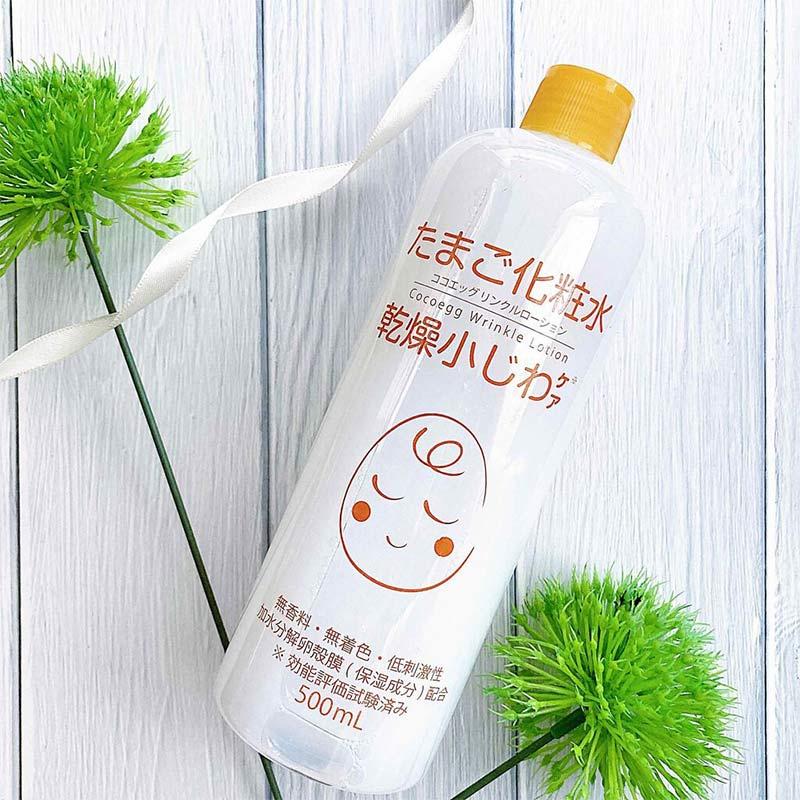 Nước Hoa Hồng Cocoegg Wrinkle Lotion Toner 500ml