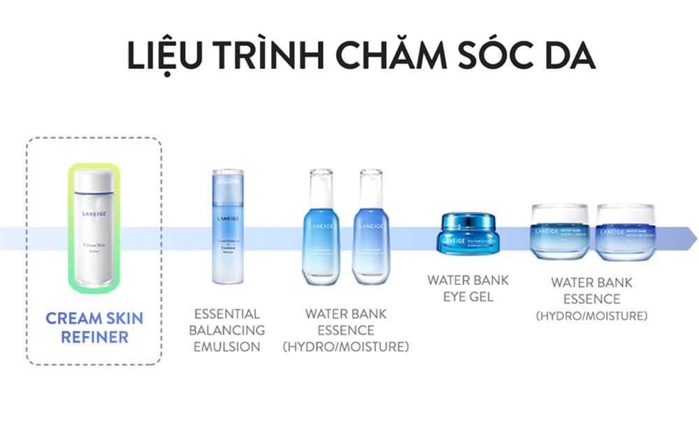 Liệu trình chăm da Nước Hoa Hồng Laneige Cream Skin Refiner 150ml