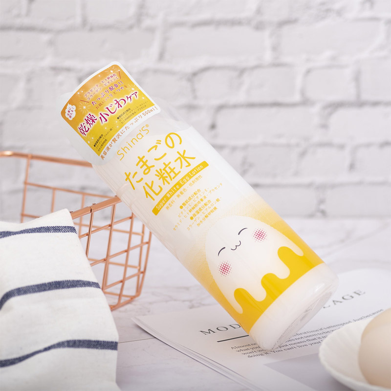 Nước Hoa Hồng Shina'S Super White Egg Lotion 500ml