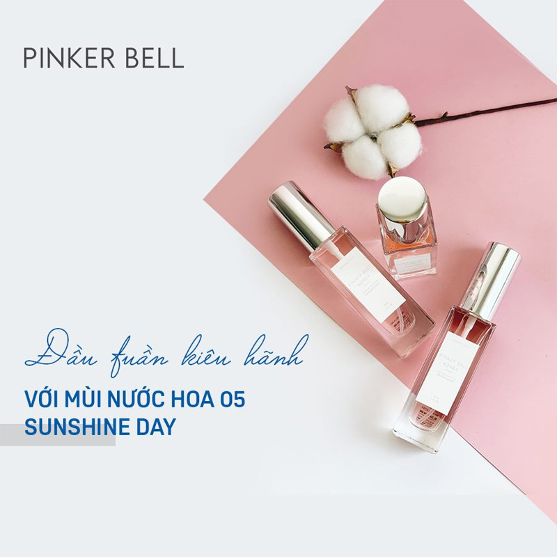Nước Hoa Pinker Bell 05 Sunshine Day EDP 30ml