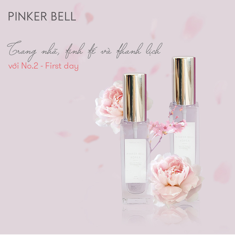 Nước Hoa Pinker Bell 02 First Day EDP 30ml