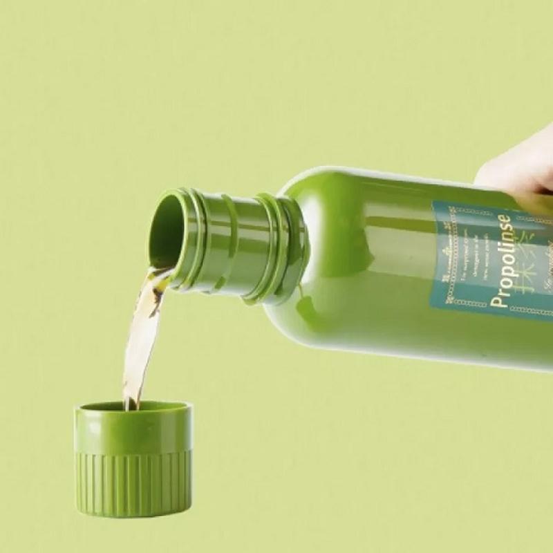 Nước Súc Miệng Propolinse Green Tea Từ Trà Xanh 600ml (Màu xanh lá) Hasaki