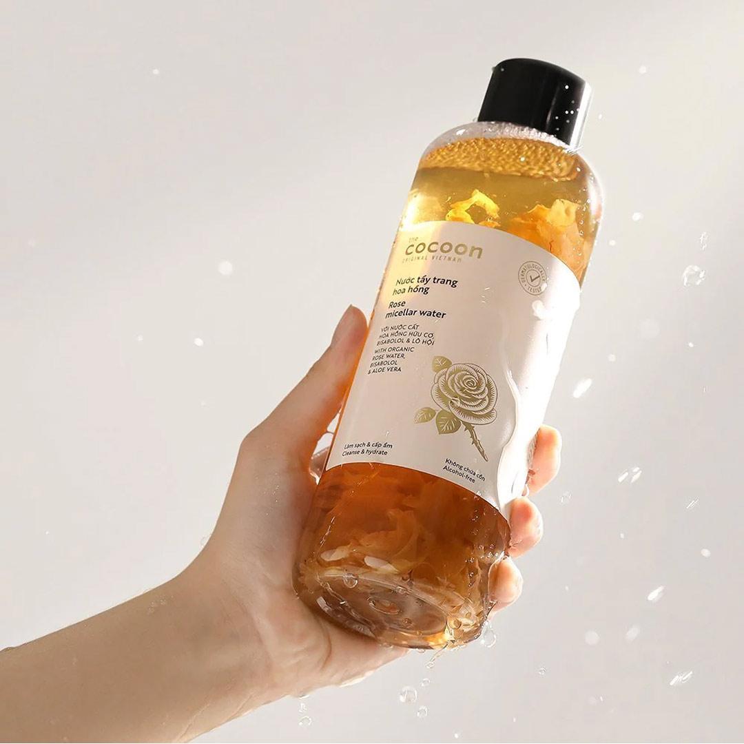 Nước Tẩy Trang Hoa Hồng Cocoon Làm Sạch & Cấp Ẩm 500ml
