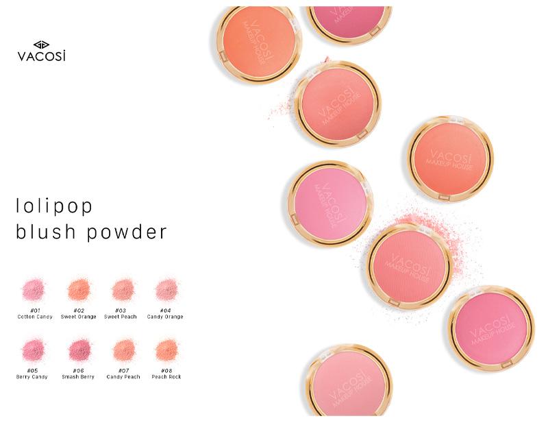 Bảng màu Vacosi Lolipop Blush Powder 5g