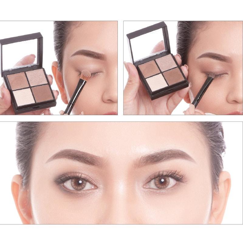 Phấn Mắt Vacosi 4 Ô Square Eyeshadow Hasaki