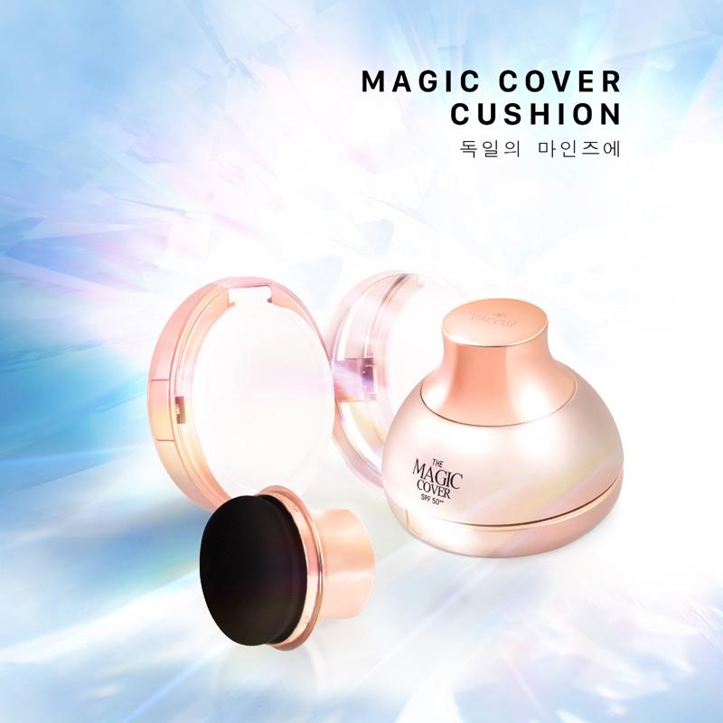 Phấn Nước Trang Điểm Vacosi SPF50++ Magic Cover Cushion SPF50++ 13g