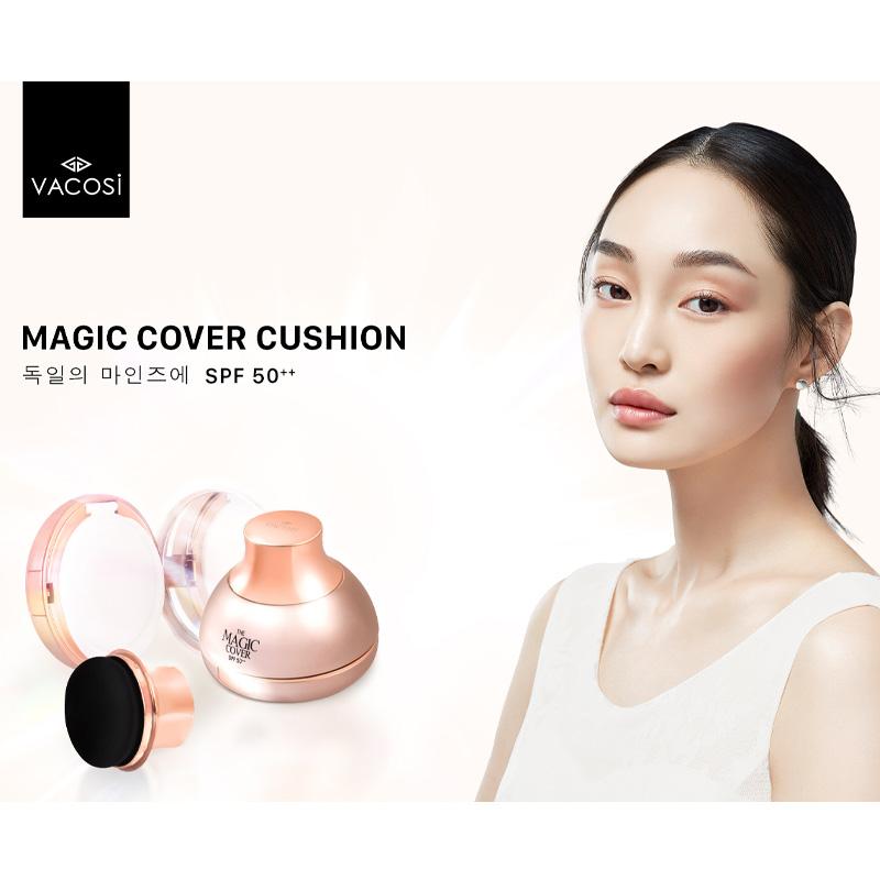 Phấn Nước Trang Điểm Vacosi Magic Cover Cushion SPF50++ 13g