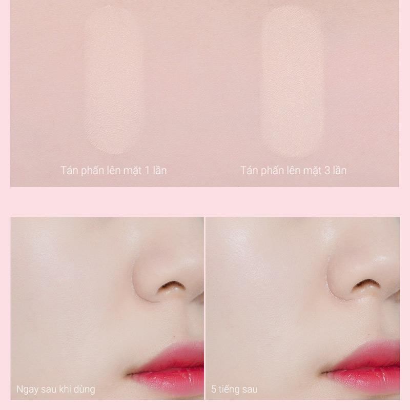 Độ kiềm dầu Phấn Phủ Dạng Nén Eglips Bản Giới Hạn Blur Powder Pact (Limited Edition) 9g