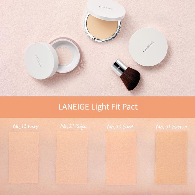 Phấn Phủ Dưỡng Ẩm Laneige Light Fit Pact