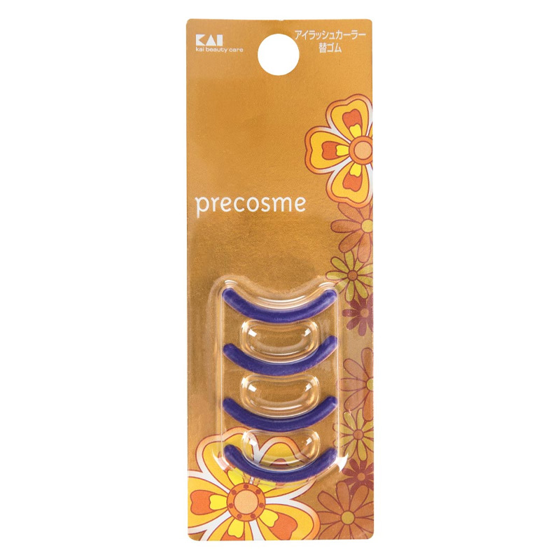 Phụ Kiện Thay Thế Dụng Cụ Bấm Mi KAI HC-0907 Precosme Eyelash Curler Replacement Rubber 4 Cái
