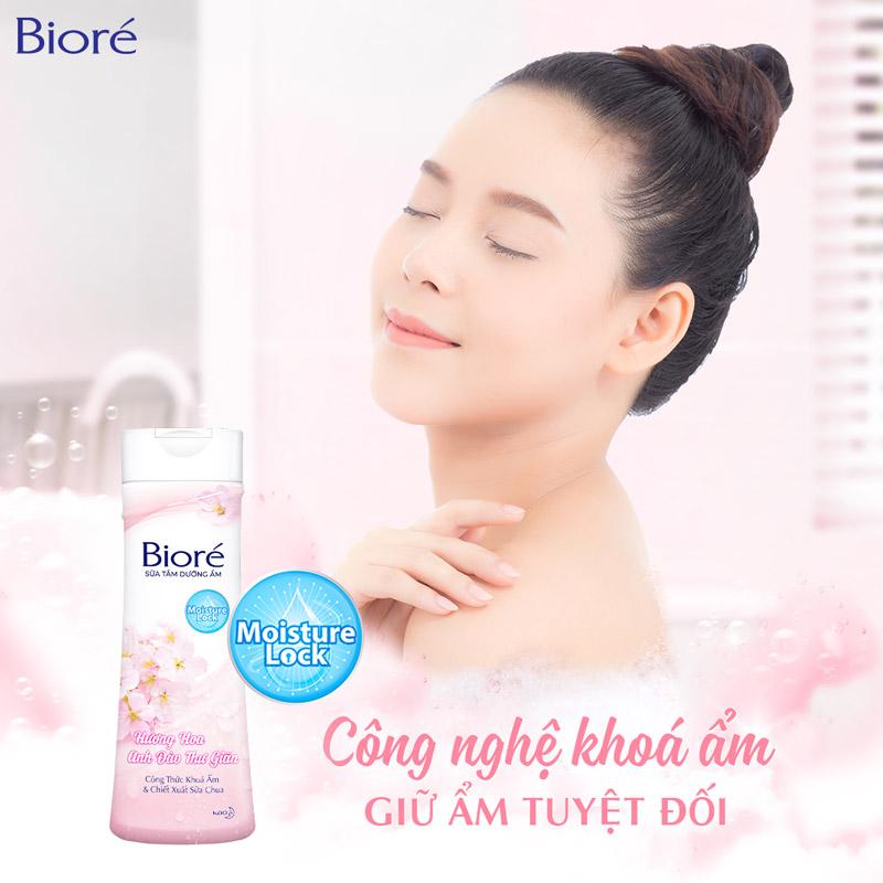 Sữa Tắm Bioré Hoa Anh Đào 200g
