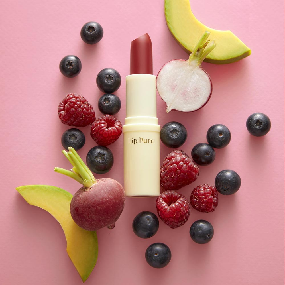 Son Dưỡng Có Màu Lip Pure #Raspberry Pink Màu Hồng Đỏ 3.8g