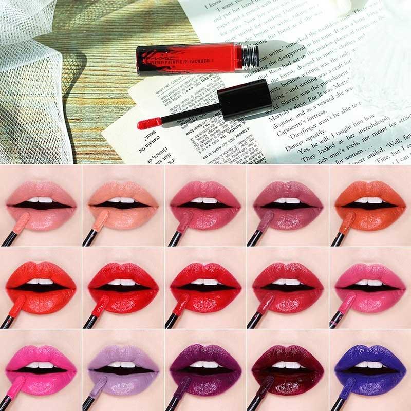 Swatch Son Kem Bóng MAC Patent Paint Lip Lacquer 3.8g