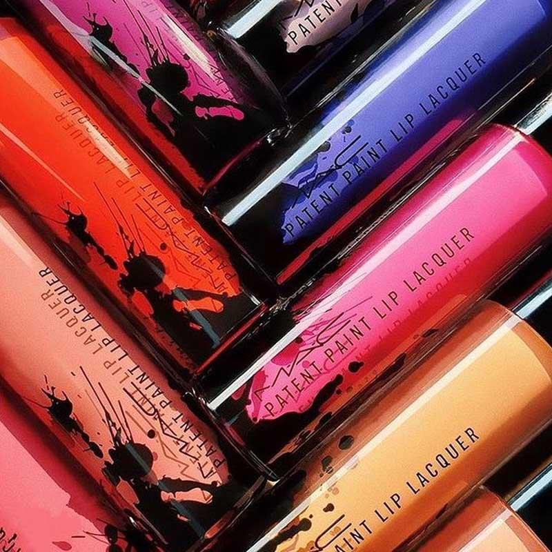 Bao bì Son Kem Bóng MAC Patent Paint Lip Lacquer 3.8g