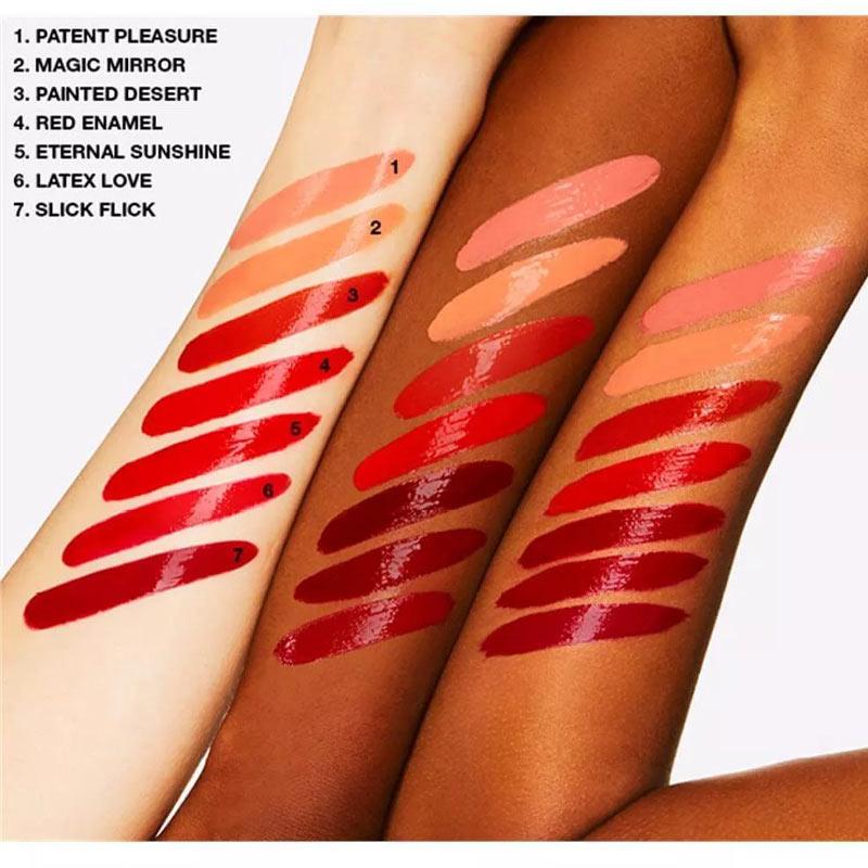 Bảng màu Son Kem Bóng MAC Patent Paint Lip Lacquer 3.8g