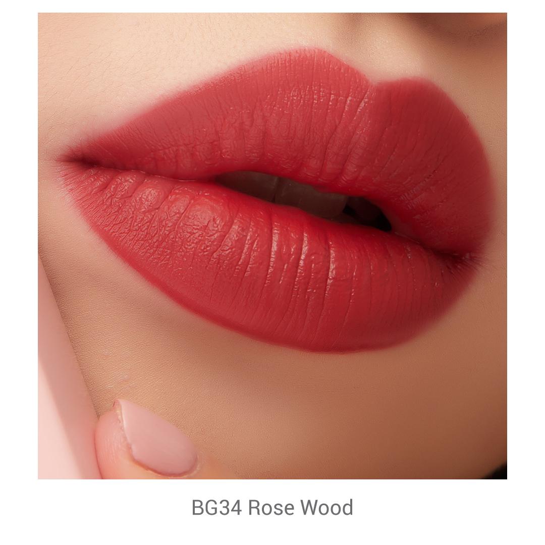 Son Kem Essance Mịn Mượt Chuẩn Màu BG34 Rose Wood 3g