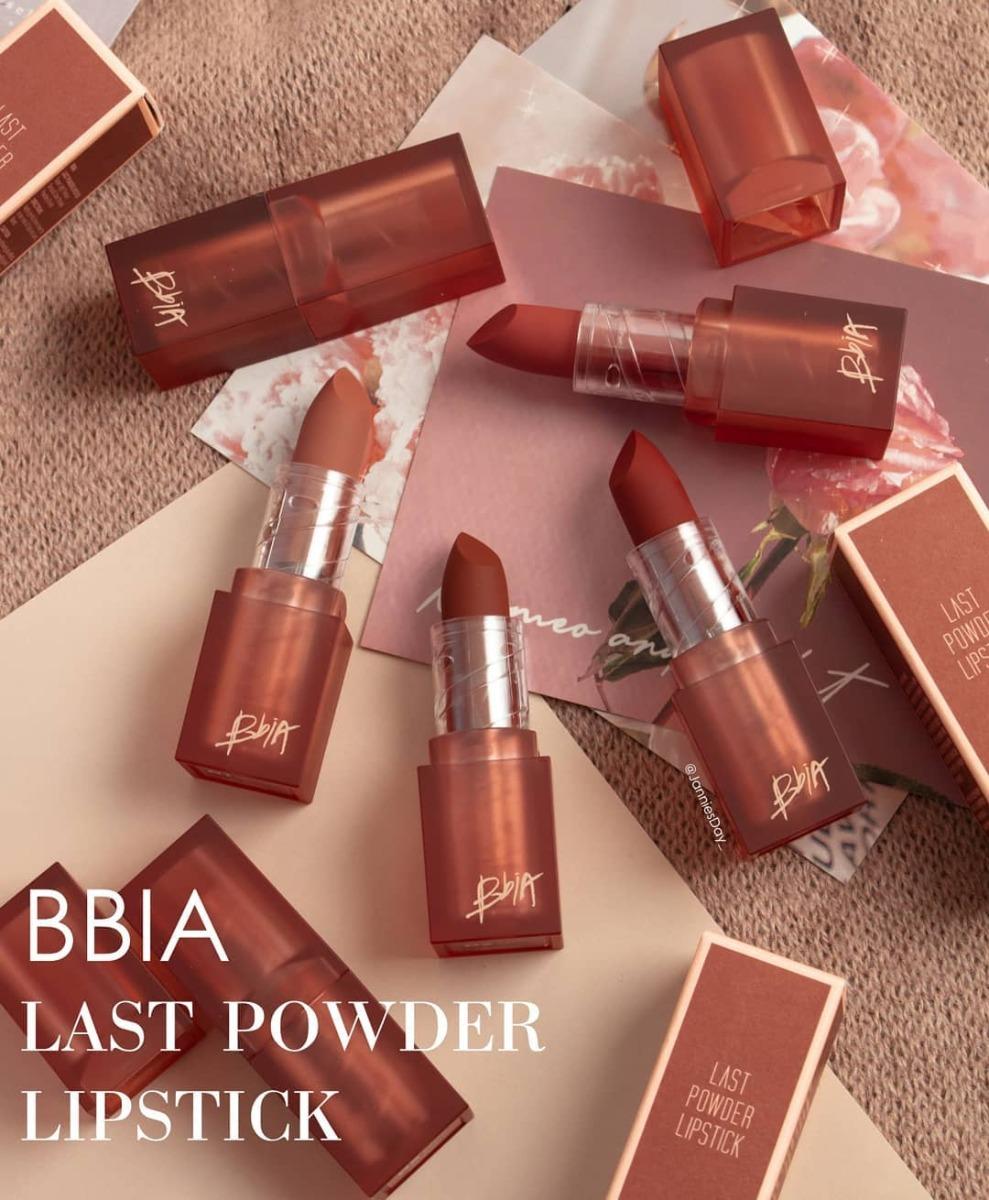 Son Lì Bbia Màu Last Powder Lipstick 3.5g