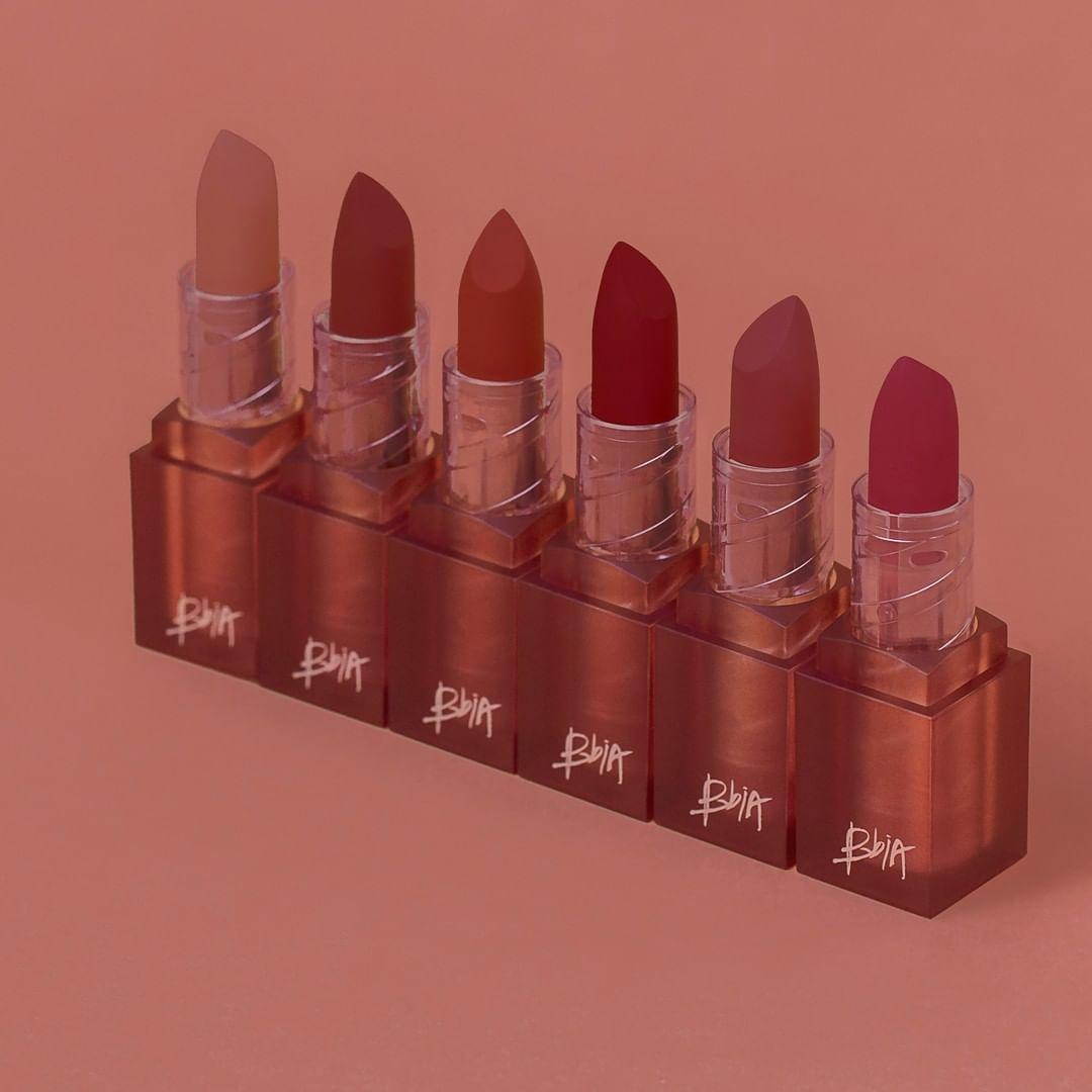 Bao bì Son Lì Bbia Màu Last Powder Lipstick 3.5g