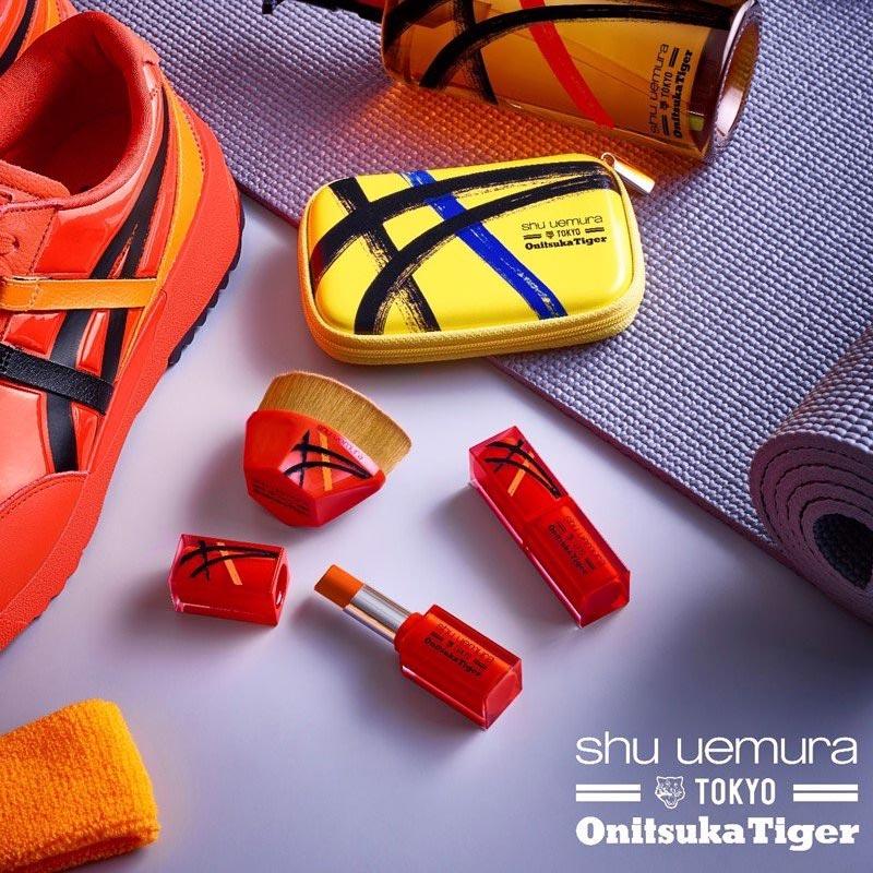Son Lì Shu Uemura Lâu Trôi Bản Giới Hạn Rouge Unlimited Matte Lipstick x Onitsuka Tiger Limited Edition