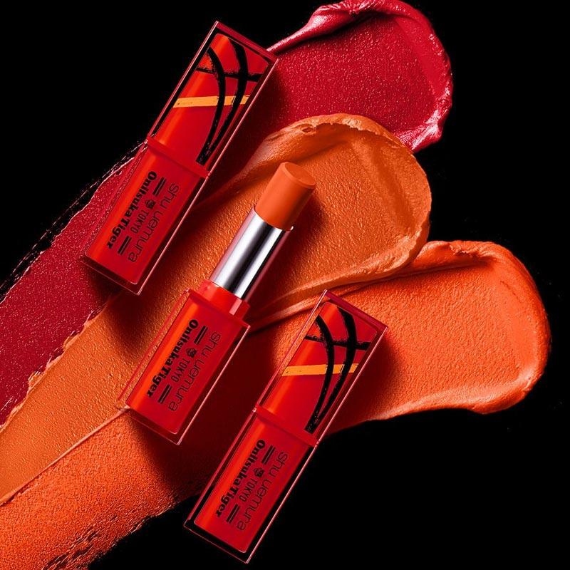 Son Lì Shu Uemura Lâu Trôi Bản Giới Hạn Rouge Unlimited Matte Lipstick x Onitsuka Tiger Limited Edition 3g