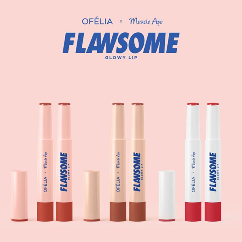 Son Môi Miracle Apo x Ofélia Flawsome Glowy Lip 2g