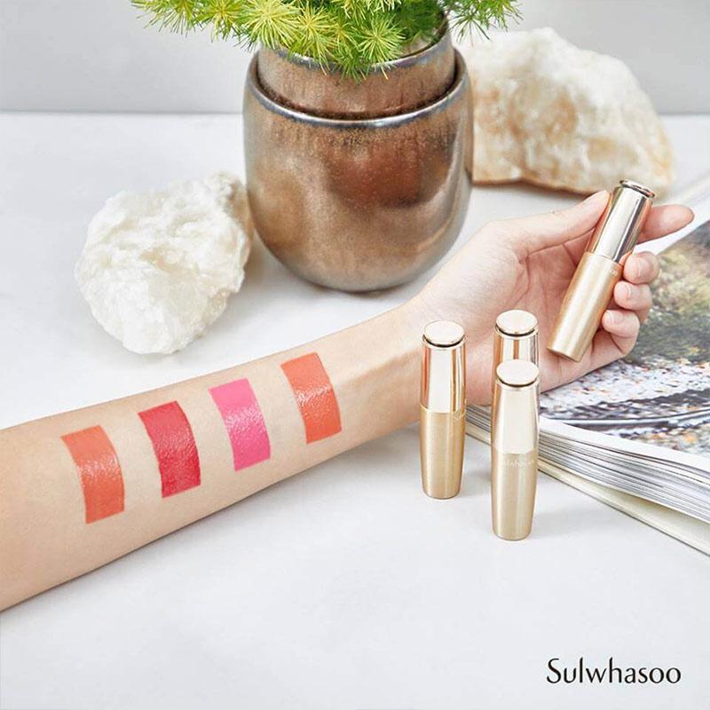 Son Môi Sulwhasoo Dưỡng Ẩm Essential Lip Serum Stick bảng màu