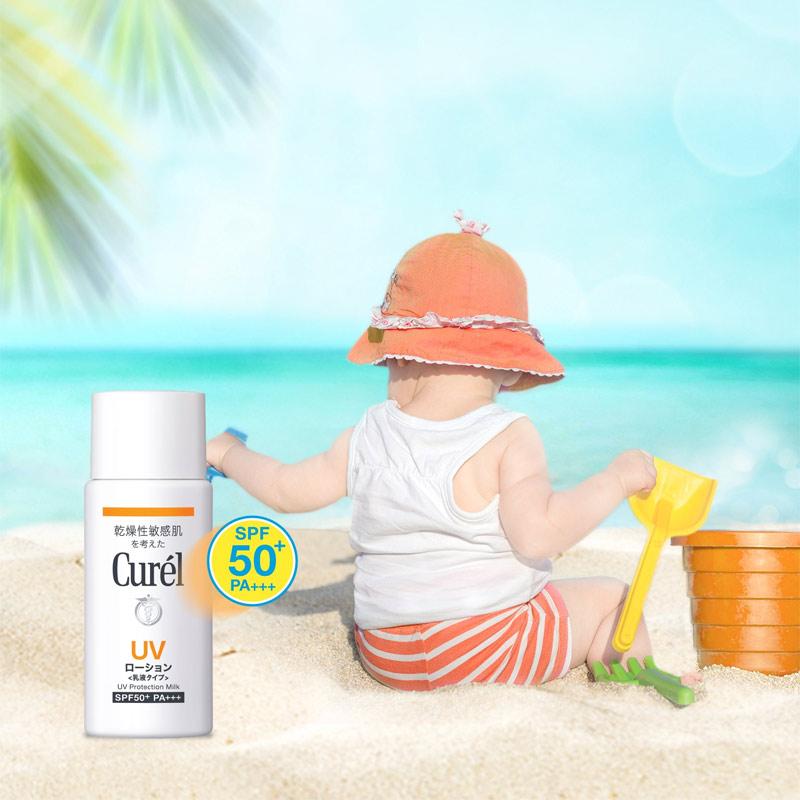 Sữa Chống Nắng Curél UV Protection Milk SPF50+ PA+++ 60ml