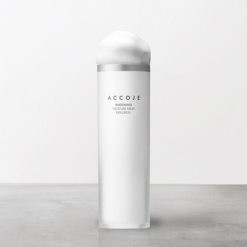Sữa Dưỡng Accoje Dưỡng Da Trắng Sáng Whitening Moisture Milky Emulsion 130ml