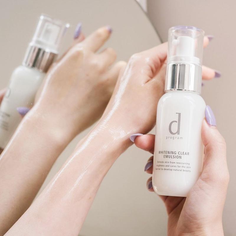 d program Whitening Clear Emulsion 100ml