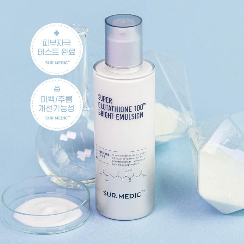Sữa Dưỡng Sur.Medic+ Làm Sáng Da Chuyên Sâu 120ml