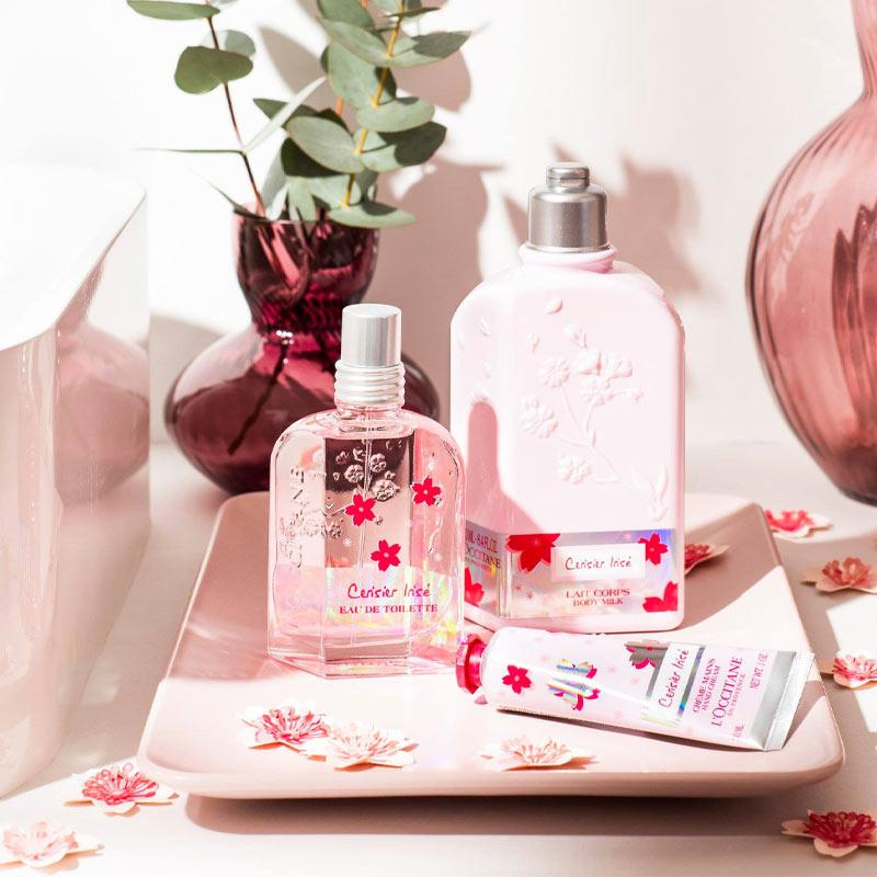 Sữa Dưỡng Thể L'Occitane Hương Hoa Anh Đào Cherry Blossom Shimmered Lotion