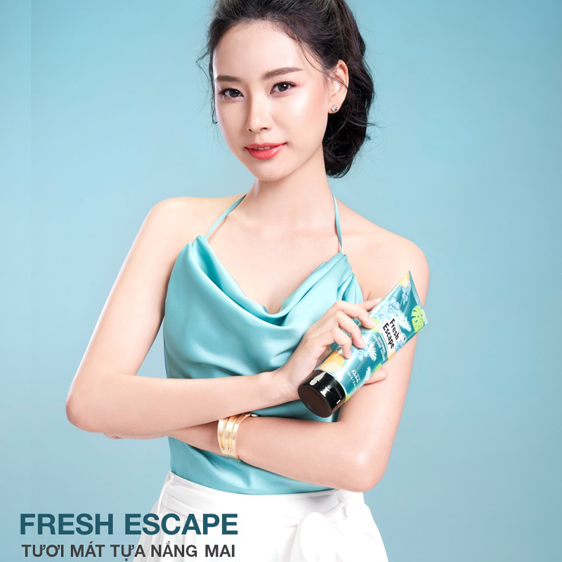 Sữa Dưỡng Thể Malissa Kiss Sáng Da #Fresh Escape 226g Hasaki